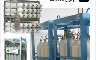 پالت کپسول اکسیژن | پالت کپسول