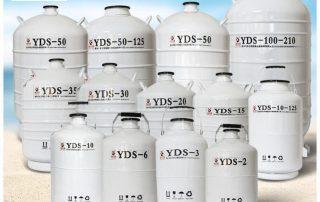 فلاسک نیتروژن مایع؛ انواع و کاربردها