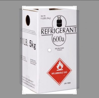 گاز مبرد R600a - یا متیل پروپان