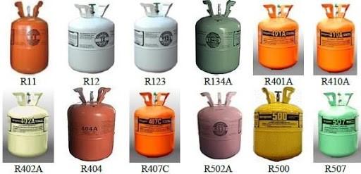 انواع گازهای مبرد