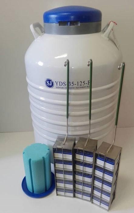 مخازن نگهدارنده نیتروژن مایع و پوشش کاربران