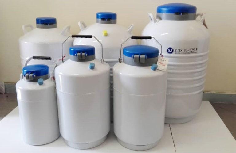 مقدار نیتروژن مورد نیاز در هر مخزن