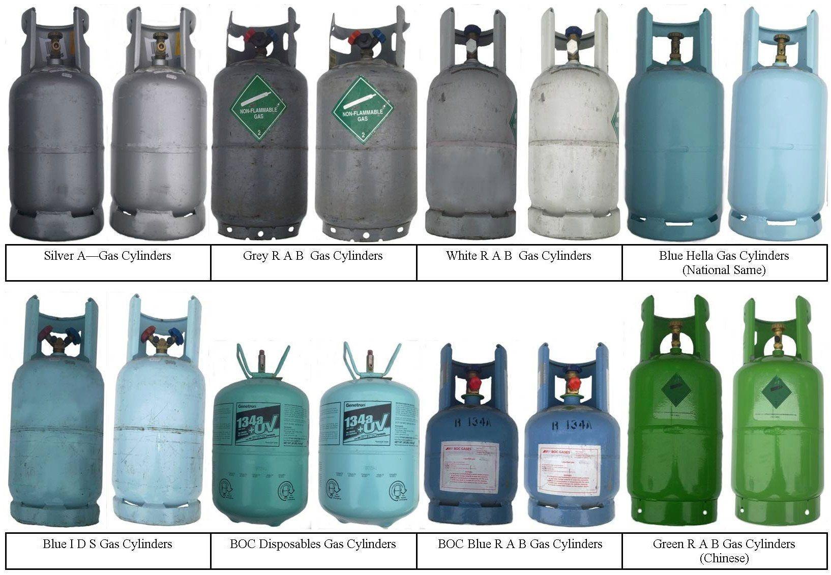 گاز R134با برند های زیر با کیفیت مطلوب و همچنین قیمت خوب در بازار ارائه می شود :
