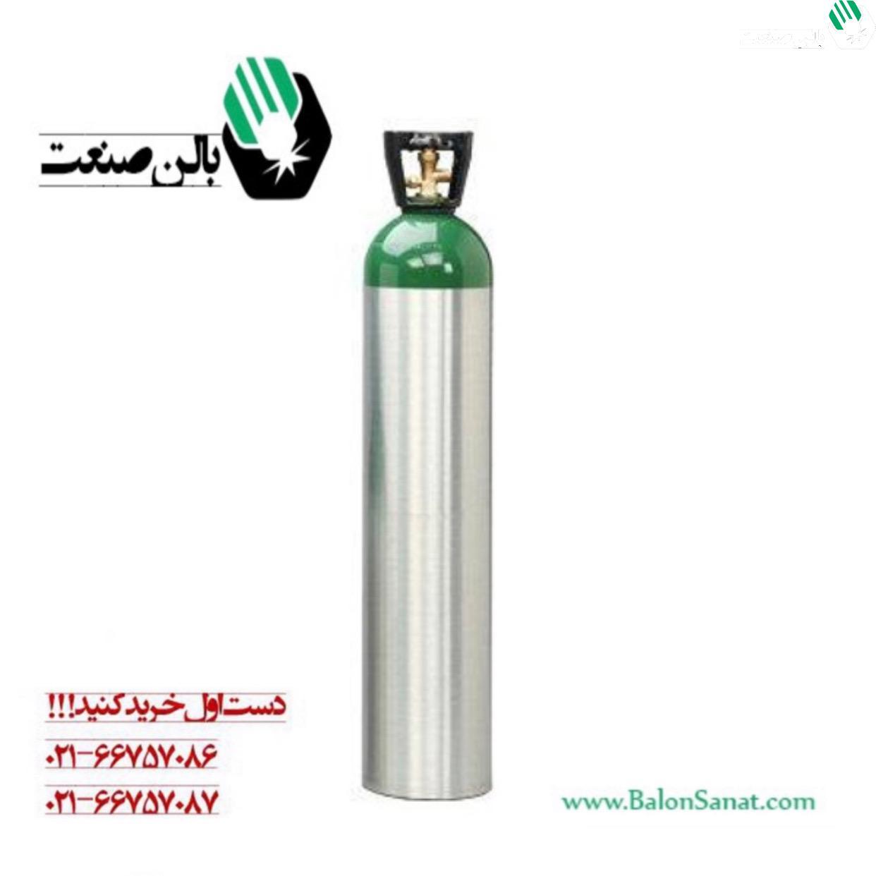 کپسول آلومینیومی ۱۰ لیتری اکسیژن