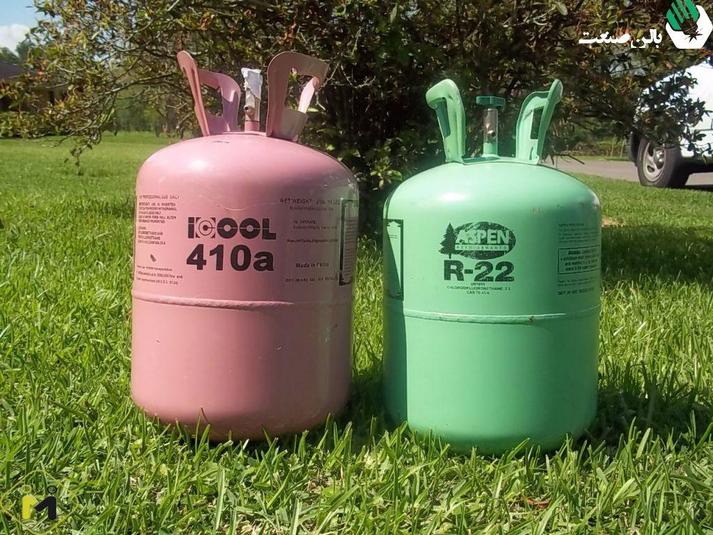 اثرات زیست محیطی r410a و r22