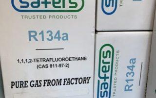 فروش ویژه گازهای سردخانه ای R134a